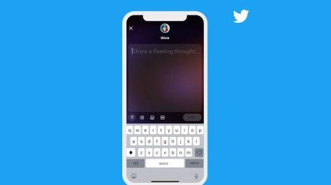 La interfaz de los fleets cambia, y es más moderna en la app de Twitter