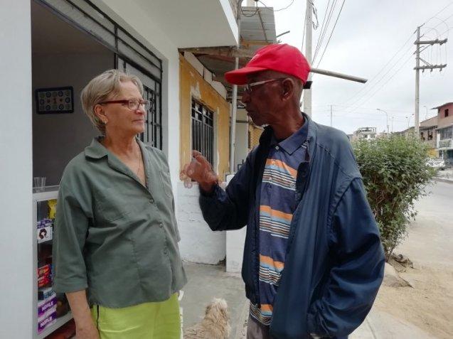 Pupy, un cubano de 80 años que llegó a Perú en abril de 1980, no ha regresado a su tierra natal.