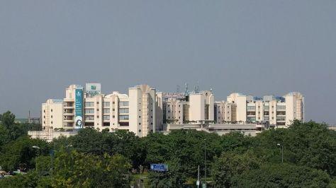 Apollo Hospital, en Nueva Delhi, uno de los mayores centros privados del país