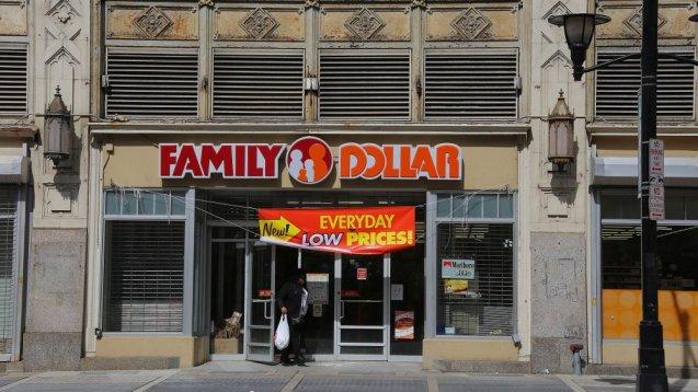Dólar familiar en Newark