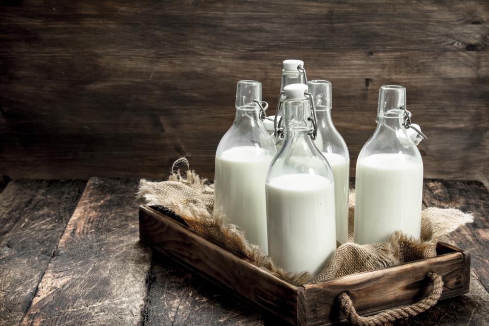 botellas leche