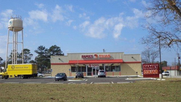 Family Dollar en Doerun, Condado de Colquitt, Georgia