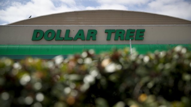 Exterior de Dollar Tree