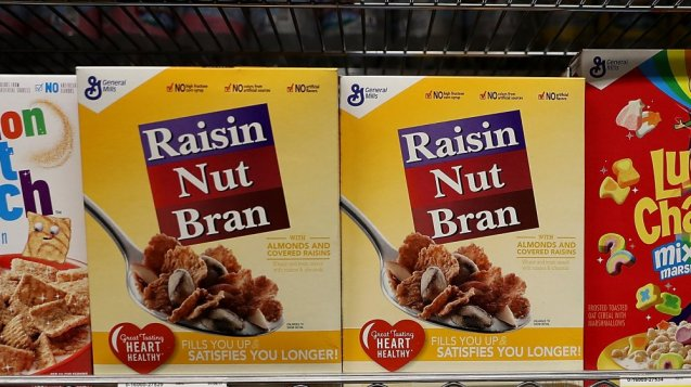 Cajas de cereales en Family Dollar