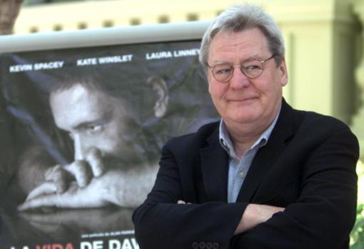 Imagen de archivo de Alan Parker durante su visita a España para promocionar su última película «La vida de David Gale», estrenada en 2003