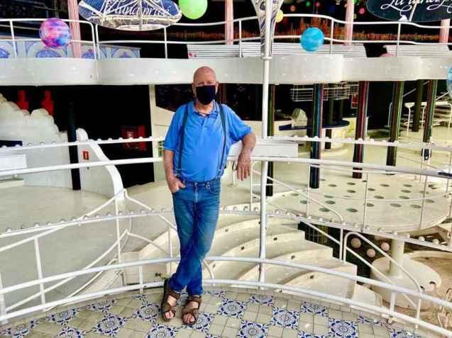 Pepe Aguirre, propietario de Paradís