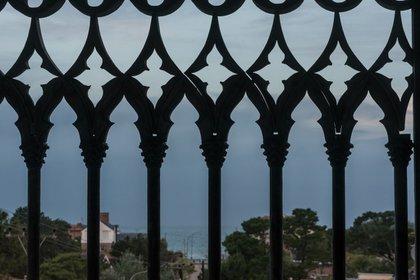 La vista al mar desde el tercer nivel (Diego Medina)