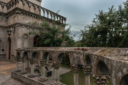 Más detalles del Palacio Augusto ubicado en Pinamar (Diego Medina)
