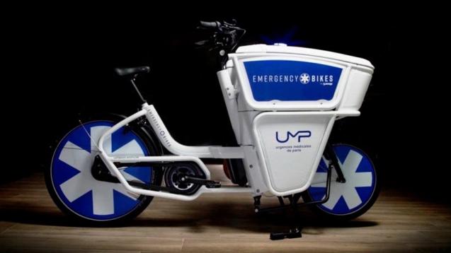Así son las Emergency Bikes, las bicicletas eléctricas diseñadas exclusivamente para la atención médica