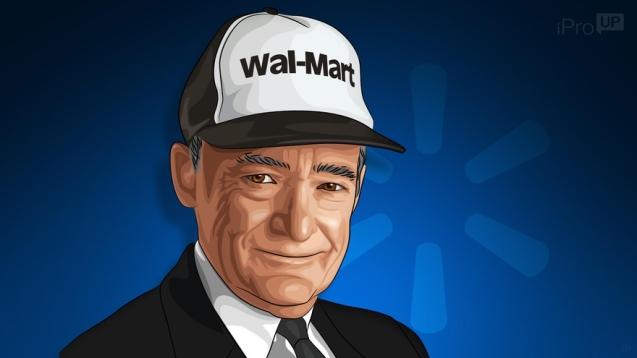 Trabajaba de mesero y le pagaban con un plato de comida: conocé la increíble historia del genio que creó Walmart