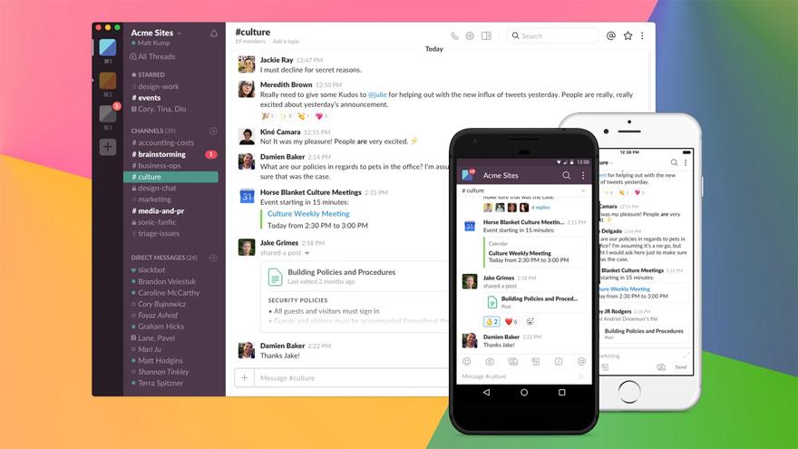 Aproximadamente nueve de cada diez encuestados de la Generación Z ,nacidos después de 1996, dicen que utilizan plataformas de mensajería como WhatsApp y Slack para comunicarse con sus compañeros cada semana