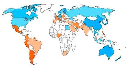 En todo el mundo se registraron más de 50 millones de contagios desde el inicio de la pandemia de coronavirus (Bloomberg)