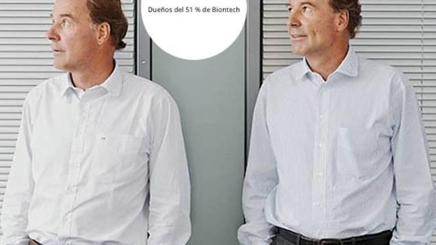 Thomas y Andreas Strüngmann, dueños del 51 por ciento de Biontech