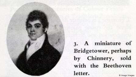Illustration George Bridgetower   Englischer Komponist