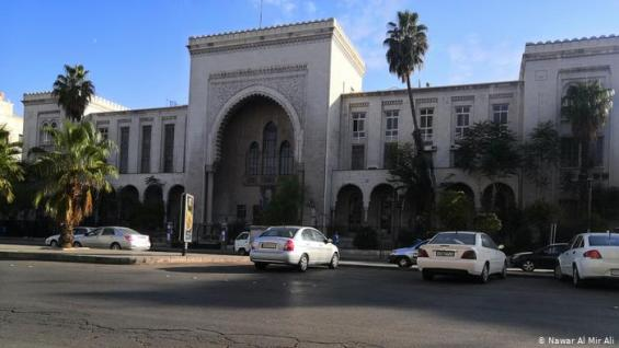 El antiguo complejo de tribunales de Damasco en Al-Hamidiyah, donde los tribunales especiales para delitos electrónicos examinan las demandas por sextorsión.