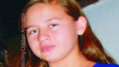 La joven había sido buscada a través de la organización Missing Children
