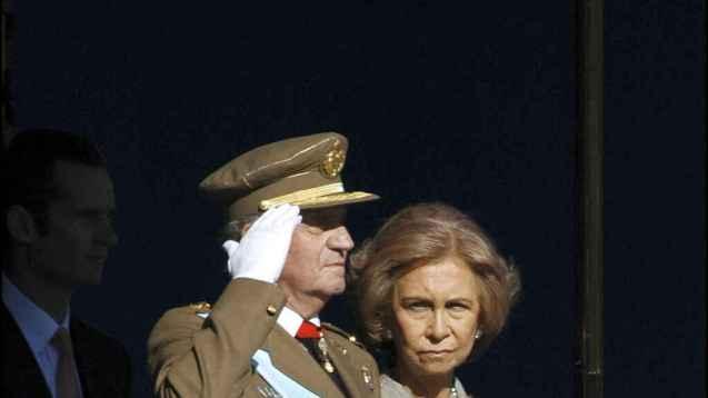 Juan Carlos y Sofía.