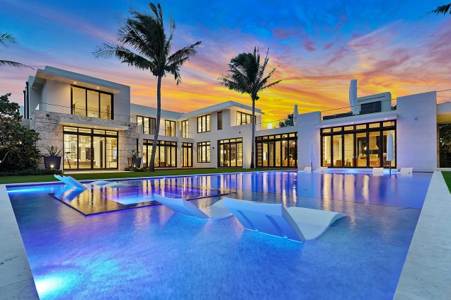 535 North County Road, Palm Beach Crédito de la foto: Cliff Finley (imagen vendida)