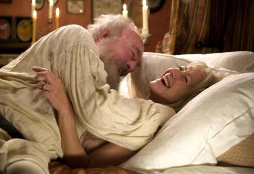 Christopher Plummer y Helen Mirren, en «La última estación»
