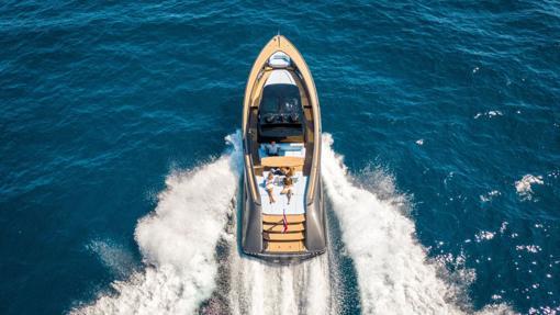 Imagen del Wajer 55 S, el yate que ha comprado Tom Brady