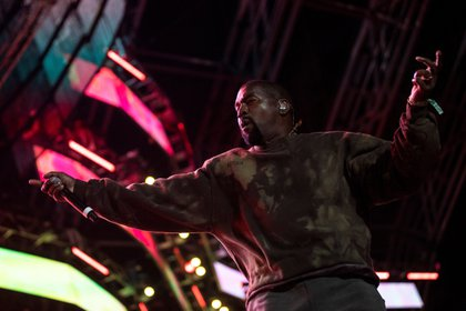 En la imagen, el rapero estadounidense Kanye West (EFE)