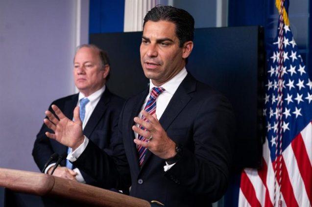 El alcalde de Miami, Francis Suarez ha buscado activamente atraer inversionistas de Wall Street y Silicon Valley a la Florida. (EFE)