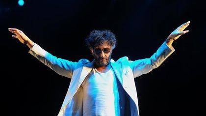 El cantante rFito Páez recibió una nominación a Mejor álbum de rock o alternativo latino (AFP)