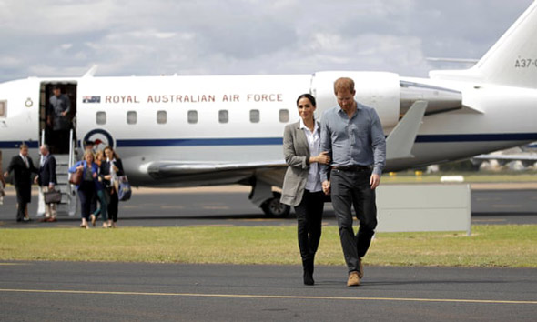 La pareja de activistas climáticos de la jet set a menudo ha sido acusada de hipocresía.