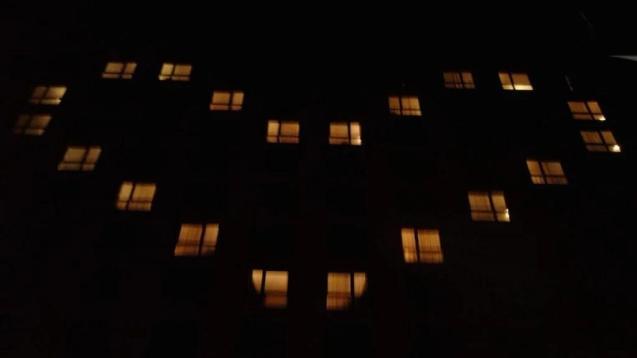 Así lucieron las luces del Sheraton el día de su cierre