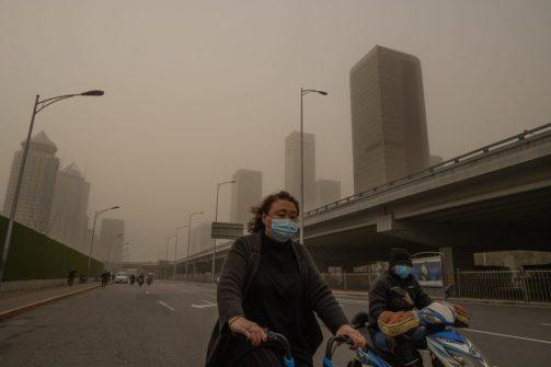 Polución por carbono, China, 2019,