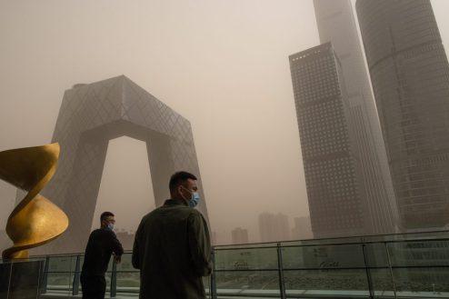 Polución por carbono, china, países desarrollados, juntos