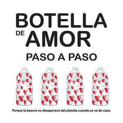 Existen distintos puntos de acopio a los que se pueden llevar las llamadas botellas del amor