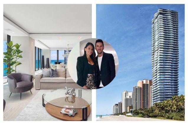 Messi y Antonela compraron un departamento de 7,3 millones de dólares en Miami